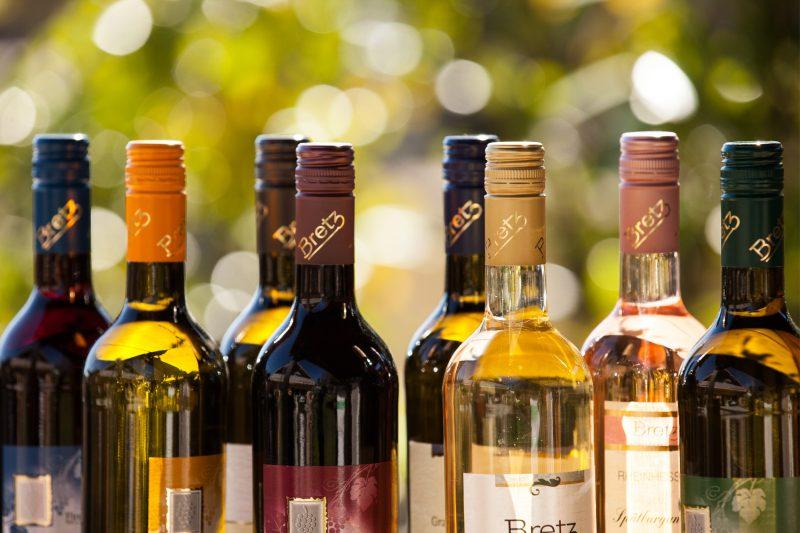 Weingut-Bretz-Flaschen